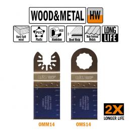 Brzeszczot 35mm z podwyższoną żywotnością do cięcia wgłębnego o uniwersalnym zastosowaniu OMM14