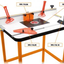 Profesjonalny stół frezarski