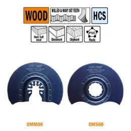 Brzeszczot 87mm promieniowy do drewna OMM08